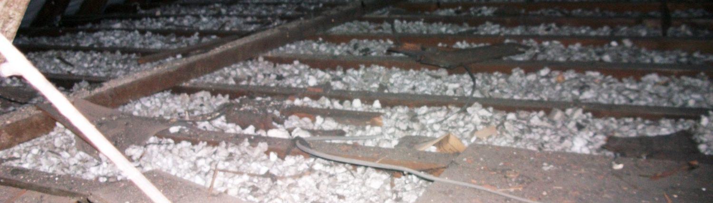 Polystyrene Loft Extraction in progress