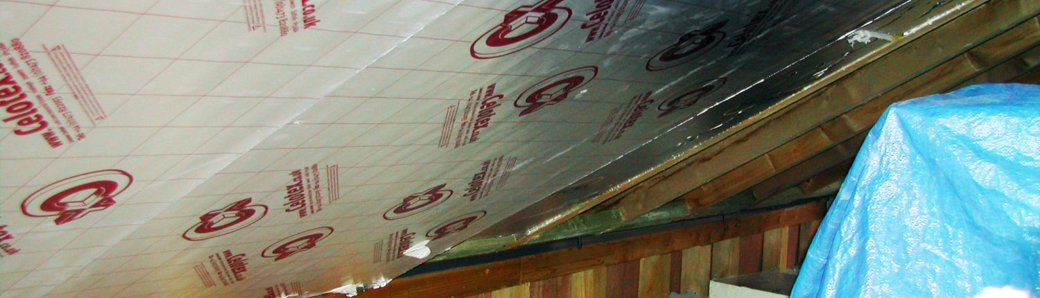 Post Warm Roof Insulation